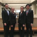 Miranda Soucie and her AAJ Regional Trial Team from the University of Illinois College of Law